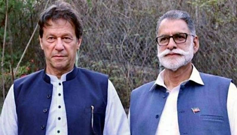 Nominated PTI candidate for AJK Prime Minister
