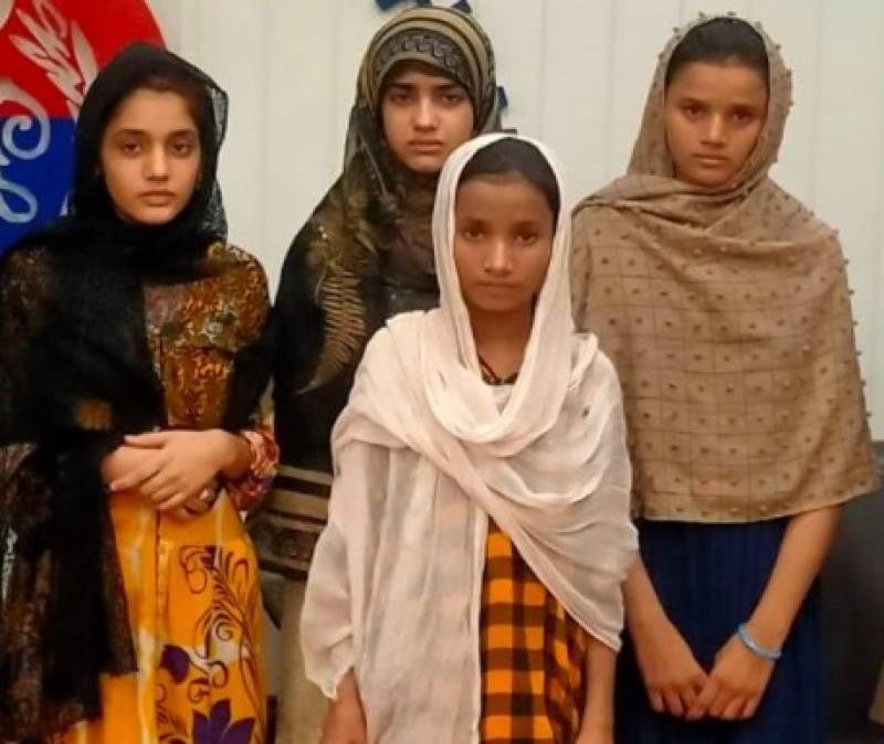Four Lahore missing girls recovered from Sahiwal