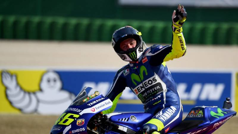 After 26 years and nine world titles, 'sad' Rossi calls it quits