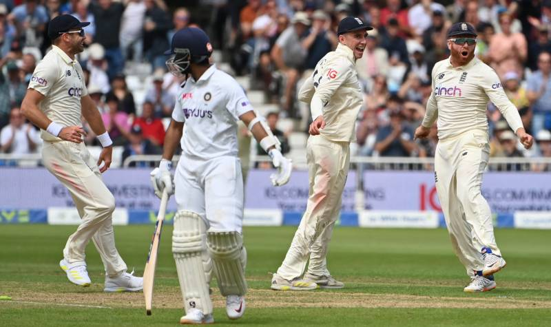 Kohli out for golden duck as Anderson double revives England in first Test