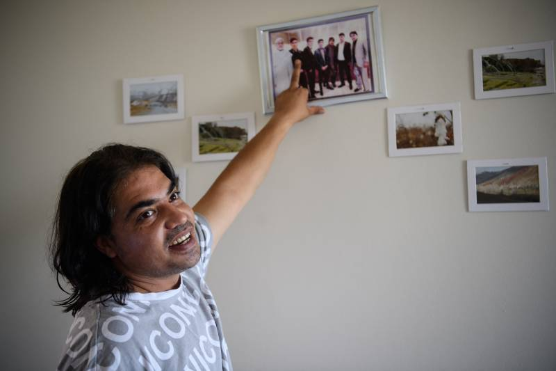 'Second home': an Afghan family's road to settling in United States
