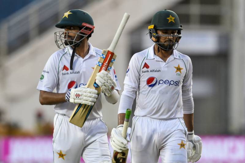 Gutsy Babar keeps Pakistan hopes alive in first Test against West Indies