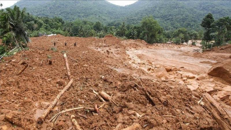 Dozens of families caught in Northern Areas landslide