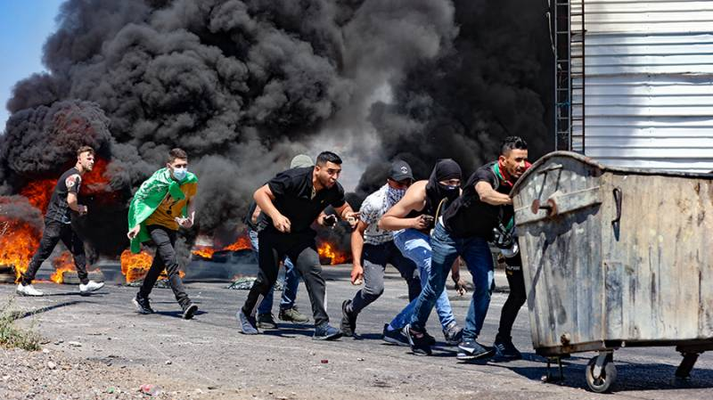 Four Palestinians killed in clashes with Israel forces