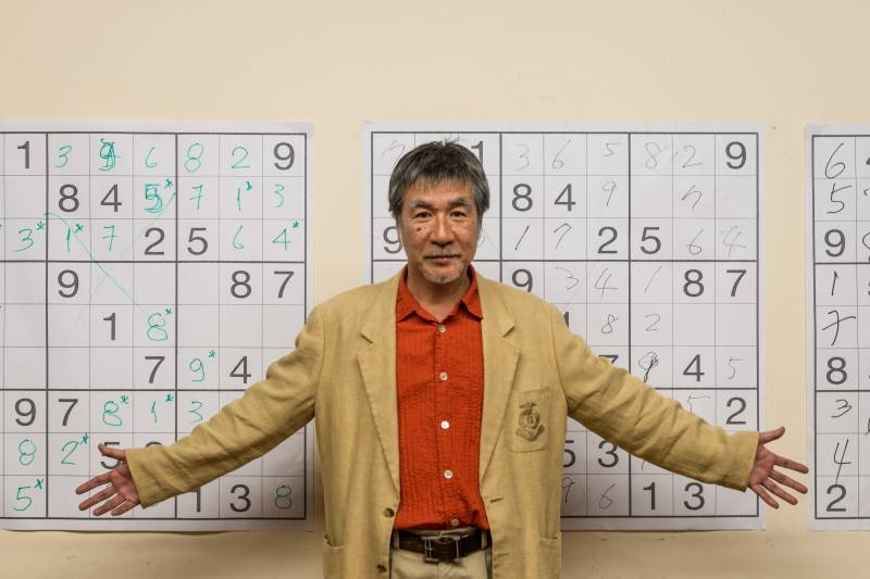 Japan's 'father of Sudoku' dead at 69