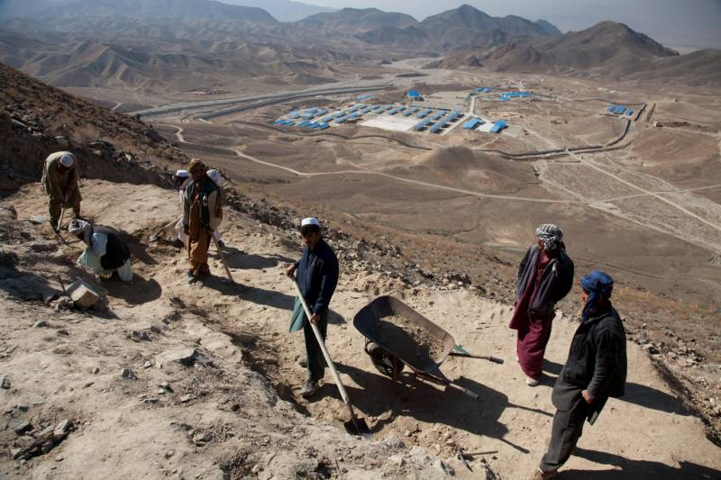 China sifts opportunity from ashes of US Afghan project