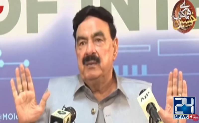 Sheikh Rasheed rejects reports of 'chaos' at Pak-Afghan border