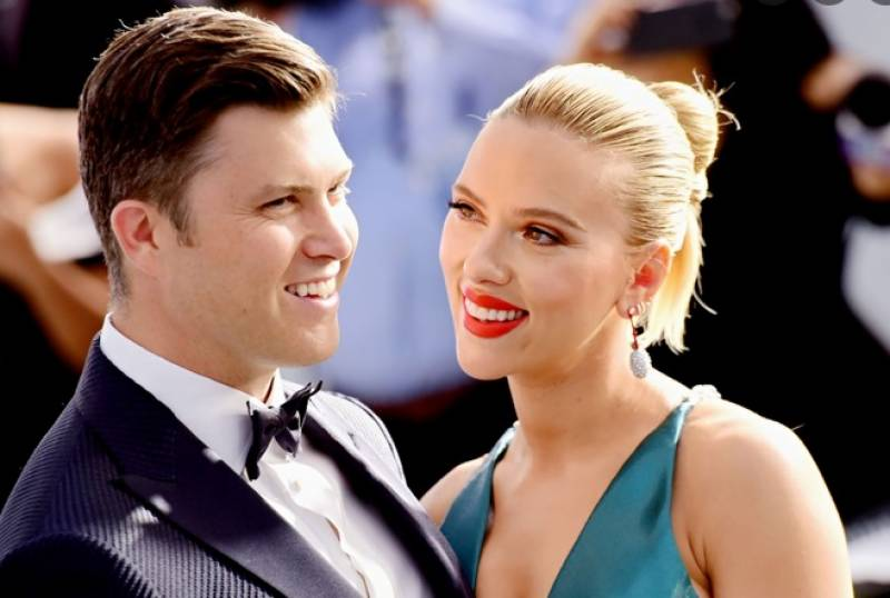 Actress Scarlett Johansson and Colin Jost welcome baby boy