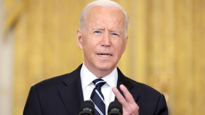 Taliban face 'existential' choice on international recognition: Biden