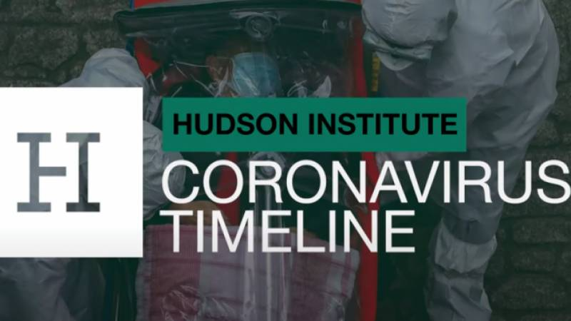 Hudson Institute and debate on COVID-19