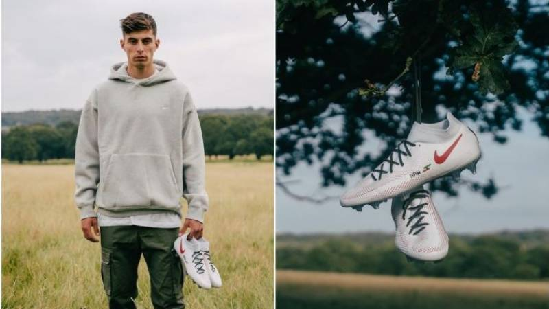 Chelsea's Havertz to auction boots for Germany flood relief