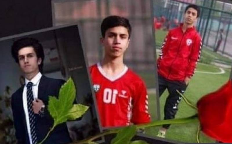Young Afghan footballer falls to death from US plane in Kabul