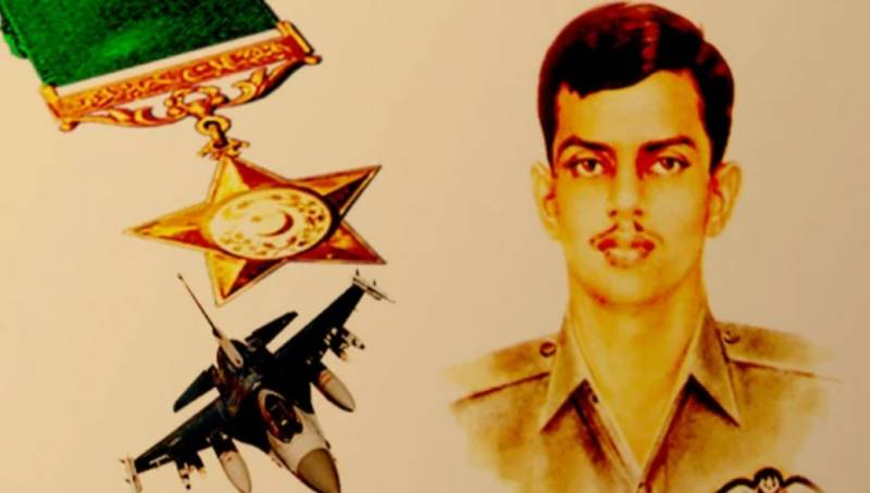 Homage to hero: ISPR DG says Rashid Minhas lived up to PAF traditions