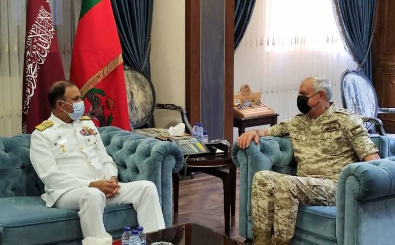 Naval Chief meets Military Command of Royal Jordanian Forces