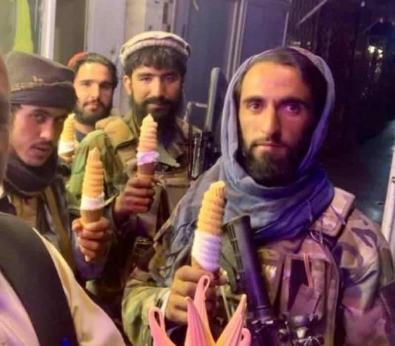 Taliban indulge in relaxing activities in Kabul – Spotted enjoying ice cream