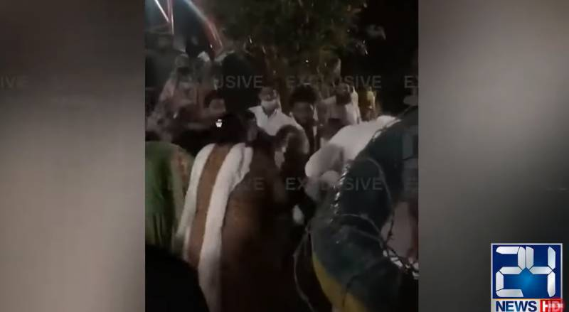 Mob tortures another girl in park, video goes viral