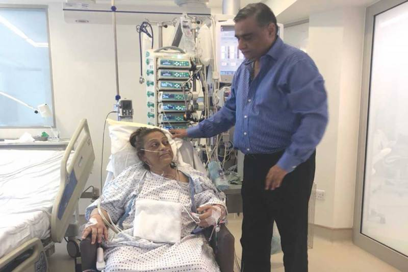 PPP leader Dr Asim Hussain's wife passes away