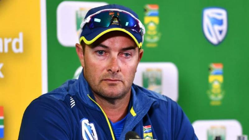 South Africa coach Boucher apologises for past racist behaviour