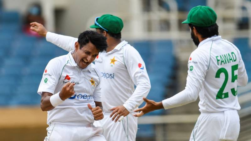 West Indies 123-8 at lunch in reply to Pakistan's 302