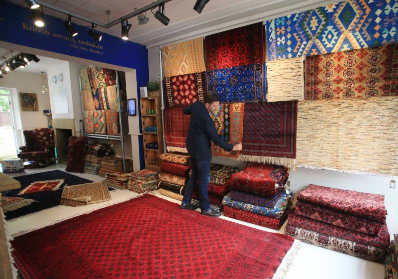 UK businesses fear for Afghan rug weavers after Taliban takeover