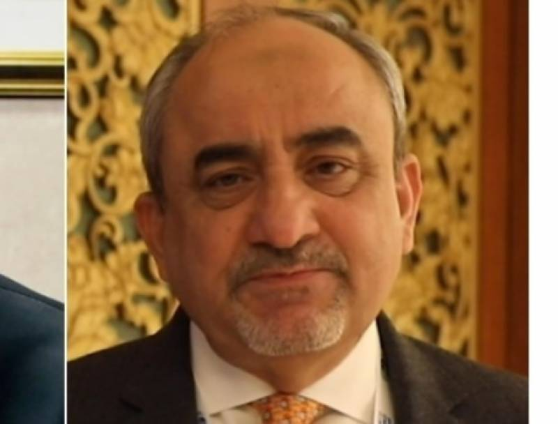 SAPM Khalid Mansoor notified as state minister