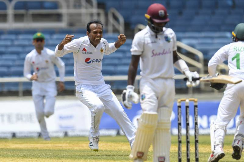 Pakistan edge closer to West Indies Test victory