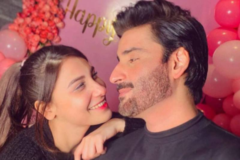 Agha Ali showers praises on wife, calls her 'exceptional' in whole showbiz industry