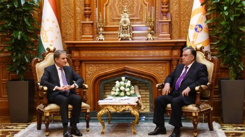 Pakistan, Tajikistan agree to remain in close contact on Afghanistan situation