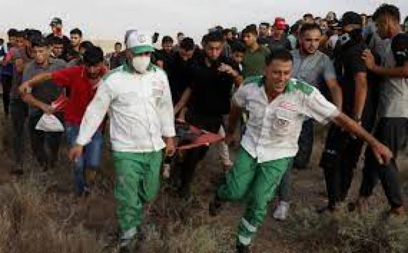Palestinian wounded in Gaza clash dies ahead of new protest