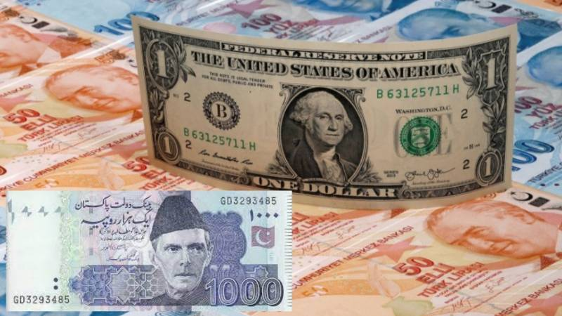 Pakistani rupee plunges to 11-month low against US dollar