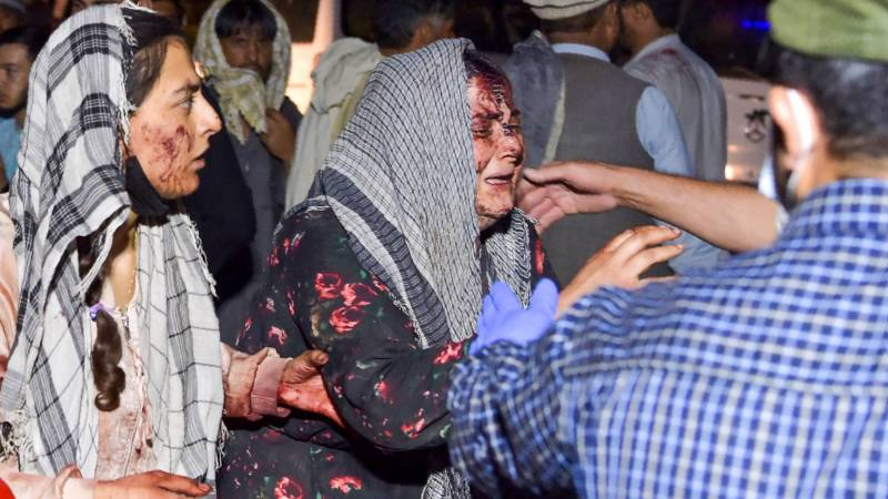 Attack leaves dozens dead including US troops at Kabul airport blasts