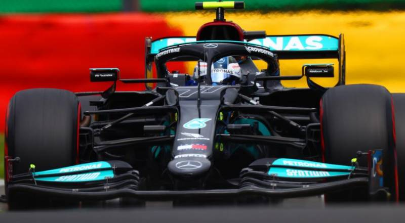 Bottas tops first Spa practice to boost Mercedes hopes