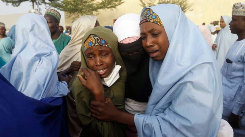 Dozens of abducted Nigeria pupils reunited with parents after three months