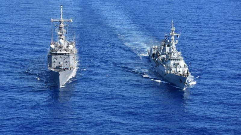 PNS ZULFIQUAR visits Jeddah & conducts naval exercises with Italian & Turkish Navy