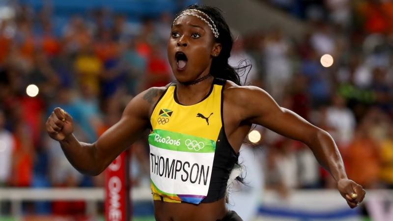 'Happy with accomplishments,' says Thompson-Herah after Paris 100m win