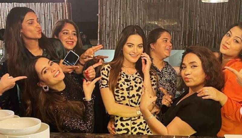 Aiman raises toast for Minal, throws bachelorette party on finalization of sister's wedding-date