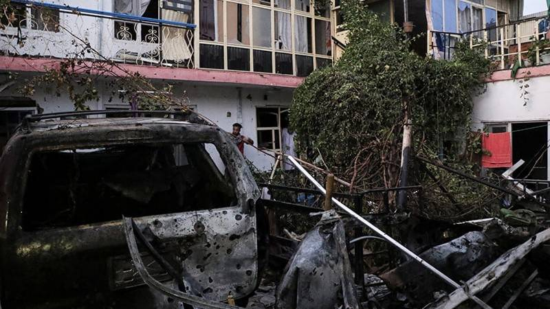 US drone targets IS suicide bomber in Kabul: officials