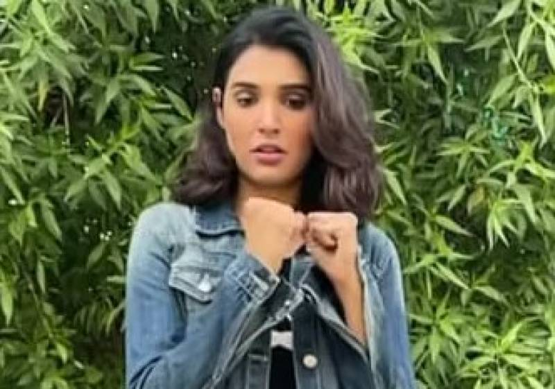 Netizens bash Aamna Ilyas on her wrongly-gone 'kickoff' challenge