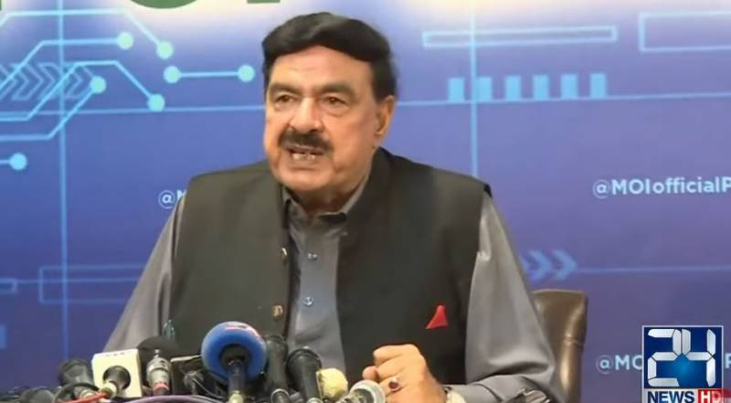 Sheikh Rasheed criticises vacating unis to accommodate foreigners in Punjab