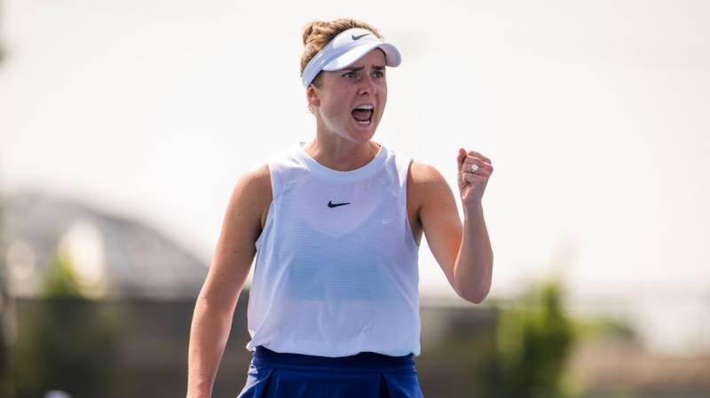Svitolina climbs to fifth after Chicago triumph
