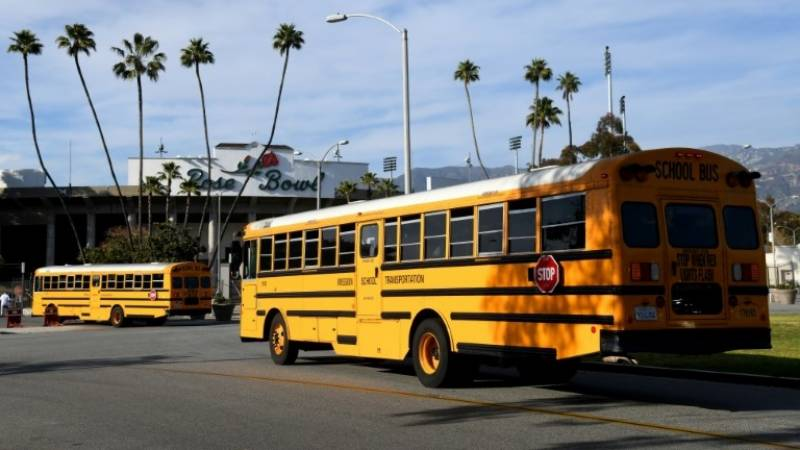 US grapples with Covid-era bus driver shortage as schools reopen