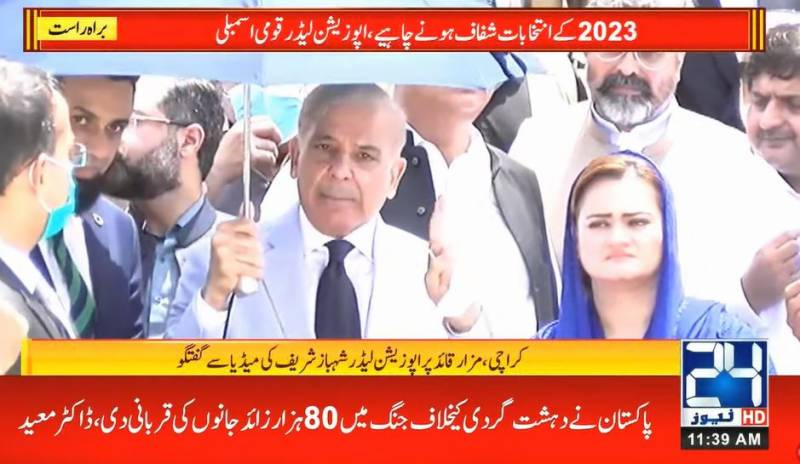 We want fair polls, level playing field in 2023 elections: Shehbaz Sharif