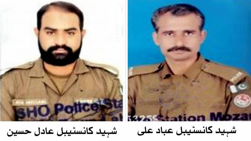 Two Lahore cops martyred in crossfire with dacoits