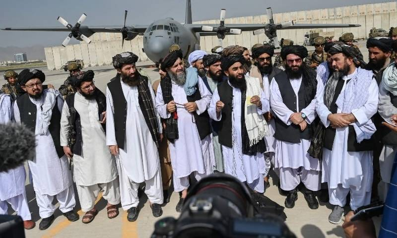 Taliban celebrate victory where last US troops departed