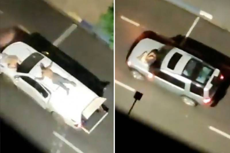 Brazil bank robbers strap hostages to cars during deadly raid