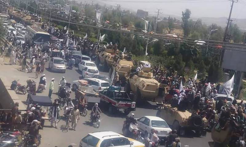 Taliban parade to show off plundered US hardware
