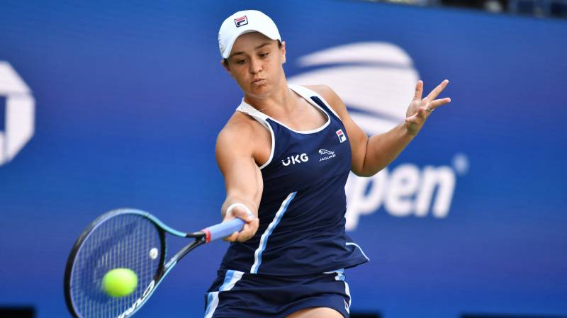 Barty advances, Djokovic chases Slam as New York recovers from flash flooding
