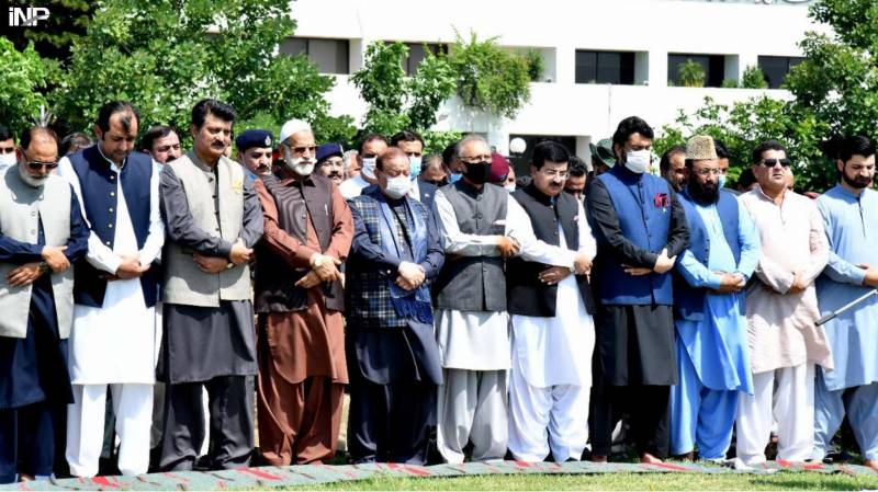 Geelani's funeral prayers in absentia to be offered at Faisal mosque after Friday prayers