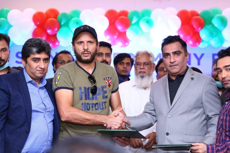 GFS Builders & Developers join hands with Shahid Afridi Foundation