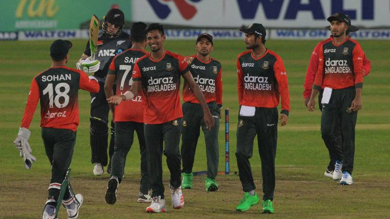 Bangladesh beat New Zealand in second T20